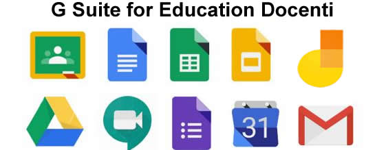 G suite for education Docenti